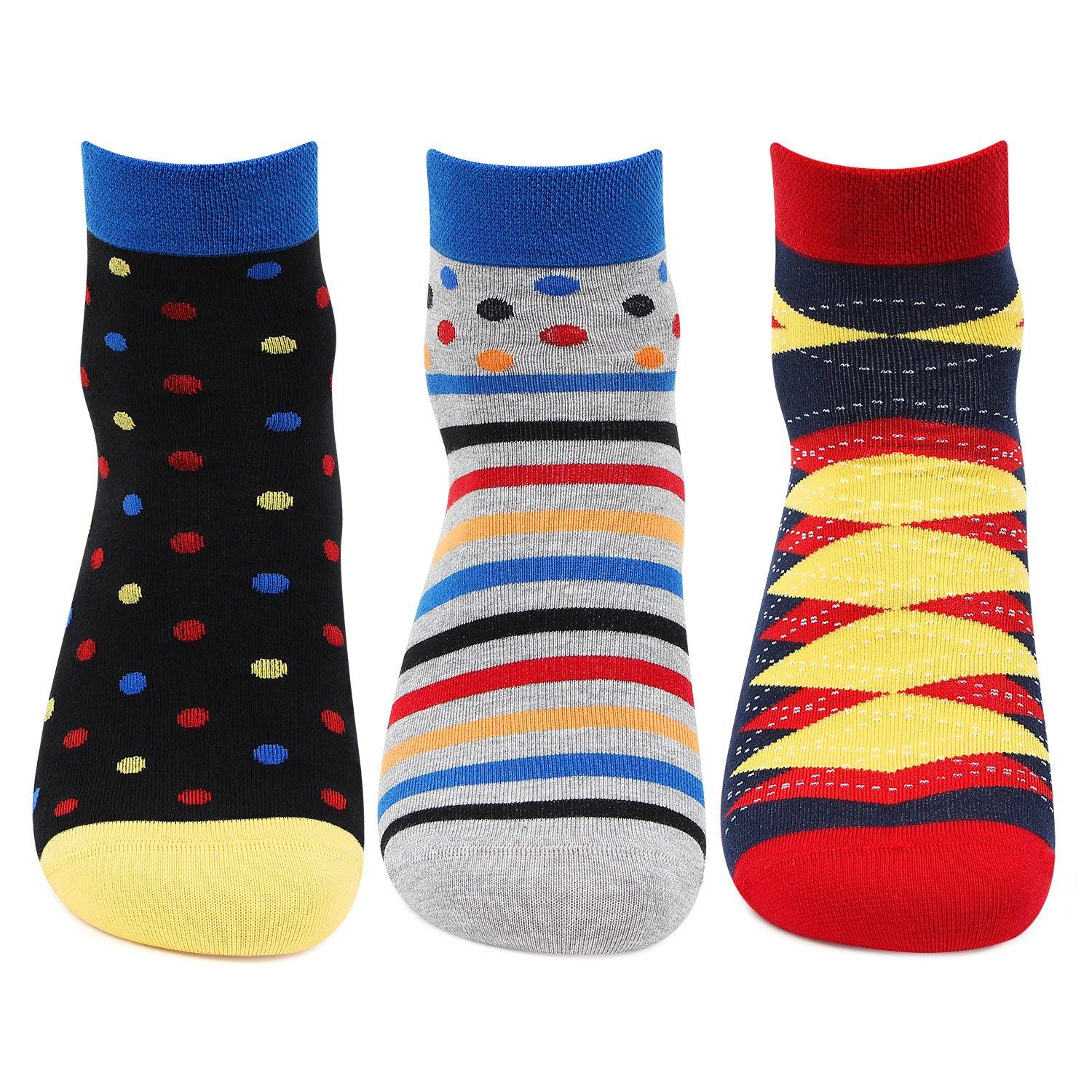 Men's Bold Ankle Socks - pack of 3