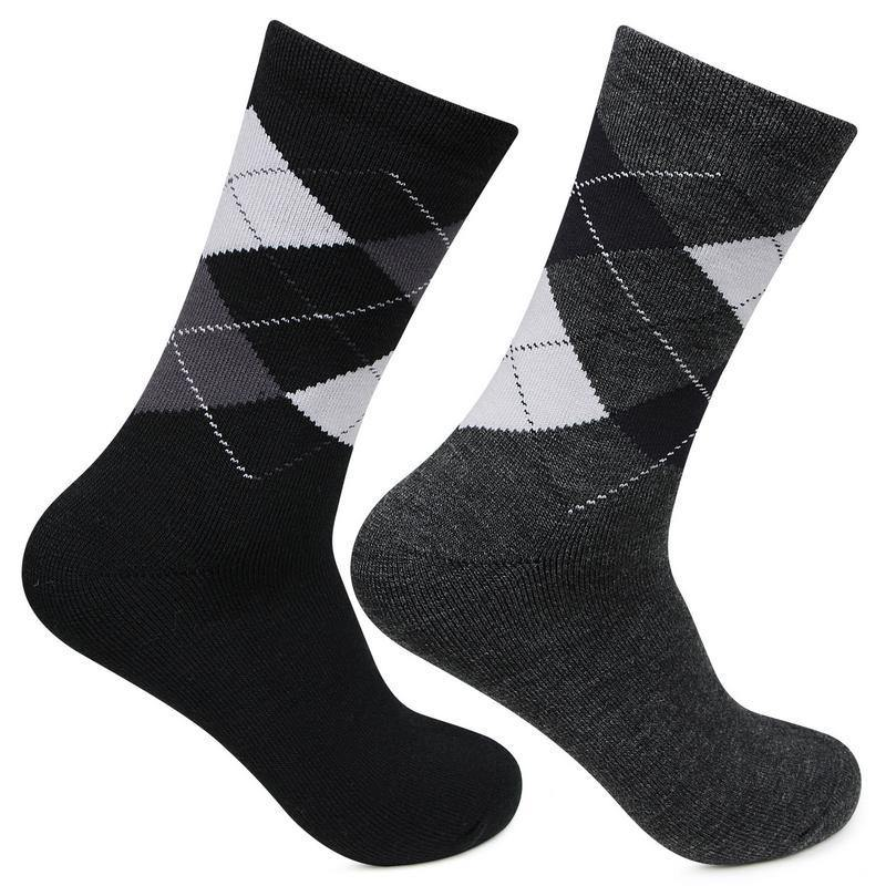 Men's Classic Argyle Multicoloured Woolen socks
