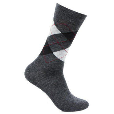 Men's Anthra Classic Argyle Woolen Socks