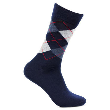 Men's Classic Argyle Multicolored Woolen Socks