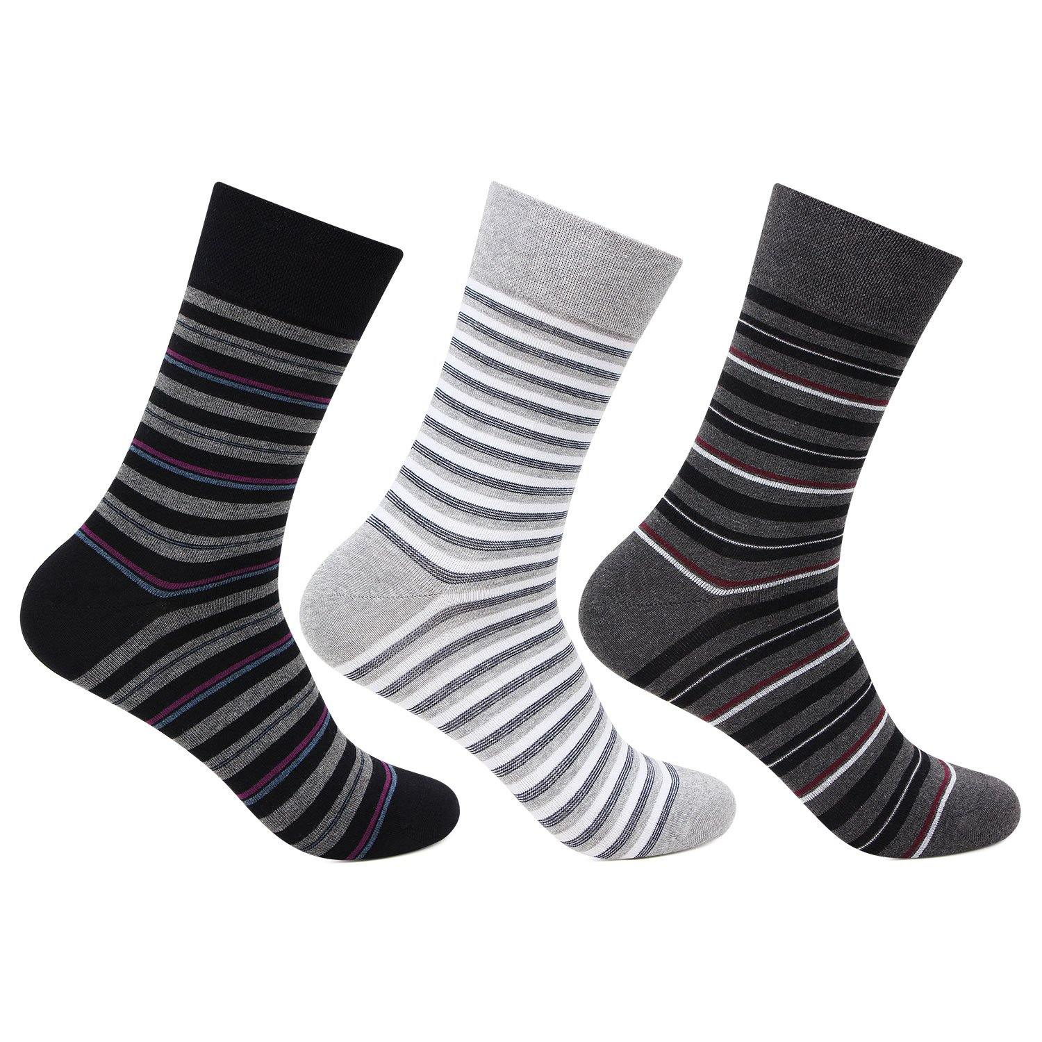 Men's Scottish Collection Crew Socks - Pack of 3