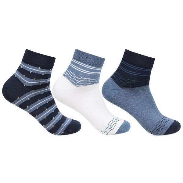 Men's Scottish Collection Ankle Socks - Pack of 3