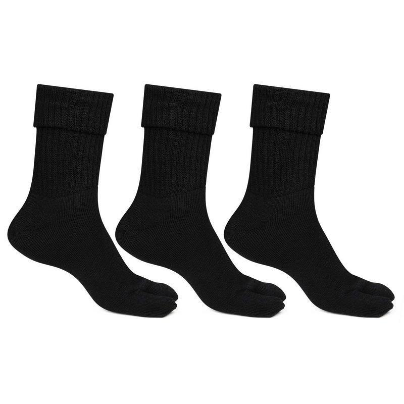 Woolen Thumb Socks (Black)