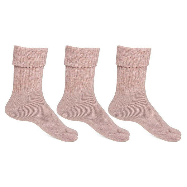 Women's Fawn Woolen Thumb Socks