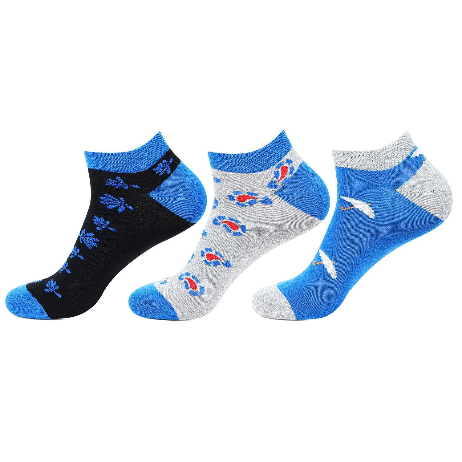 Hush Puppies Men's Cotton Ankle Socks - Pack of 3 - Bonjour Group