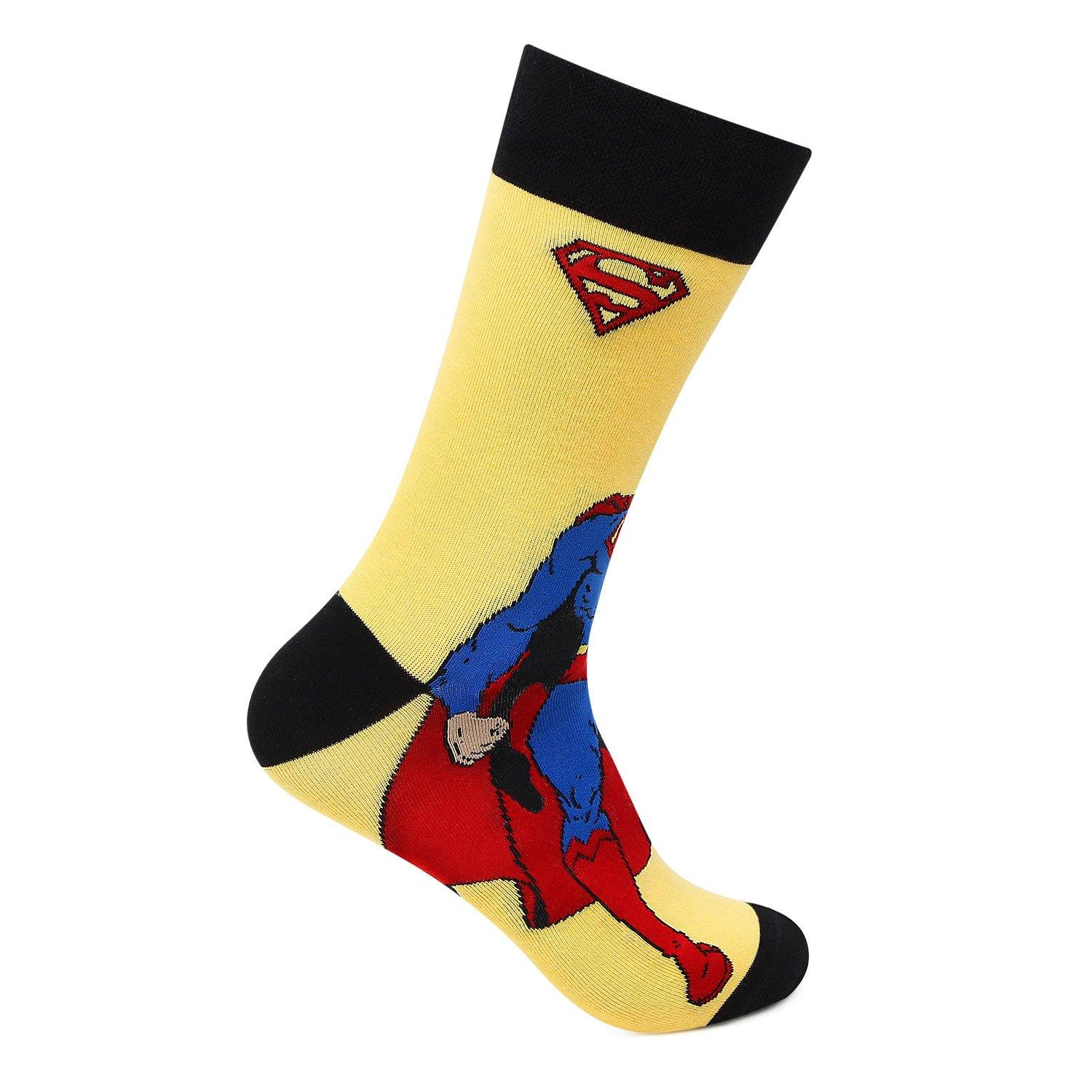 Superman Crew Socks for Men