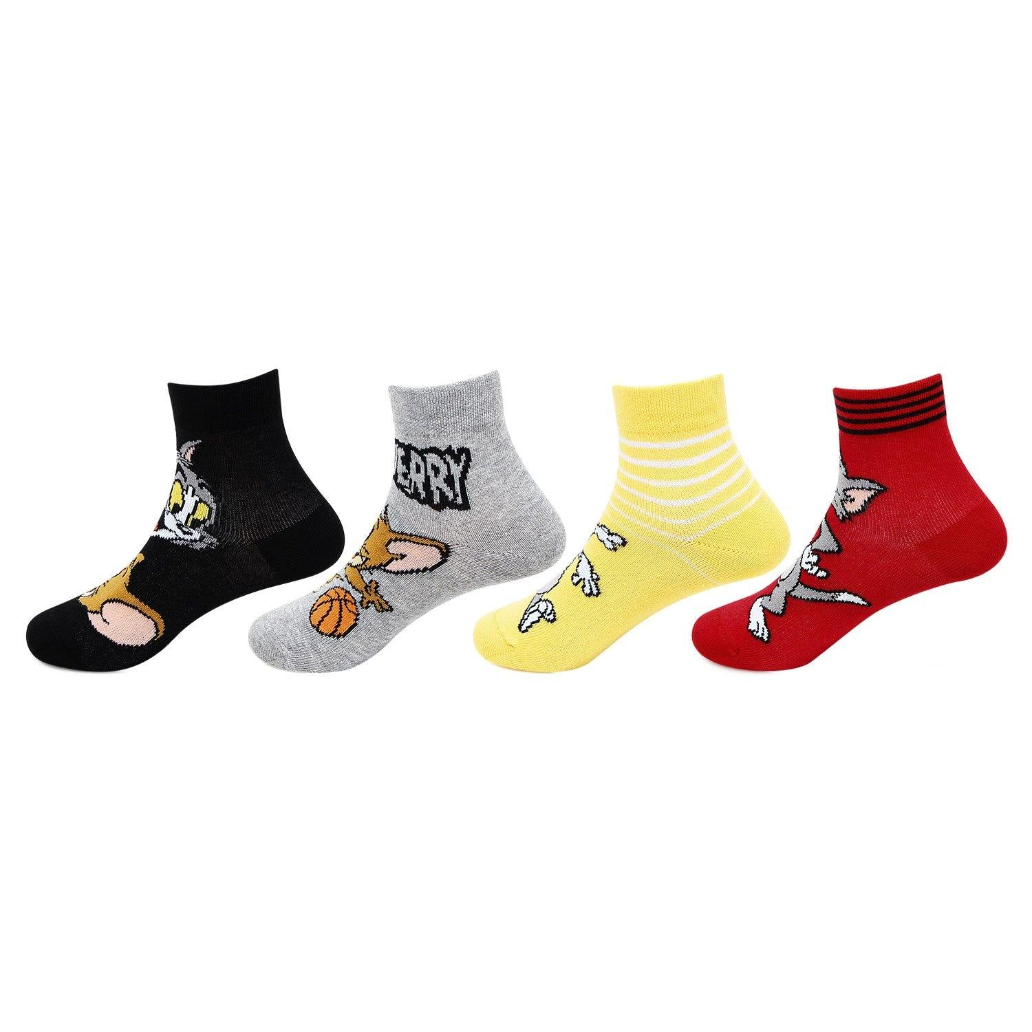 Tom and Jerry ankle socks for kids