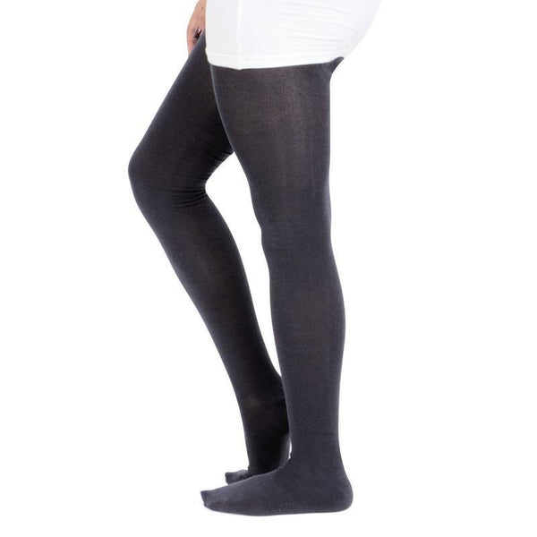 Plain Knitted Tights For Girls
