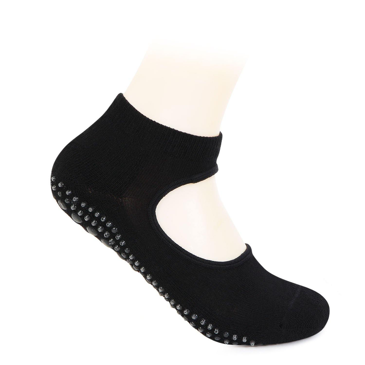 Girls Anti-Skid (Gripper) Yoga Socks