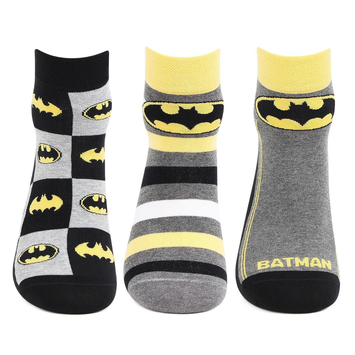 Batman Men Secret Socks