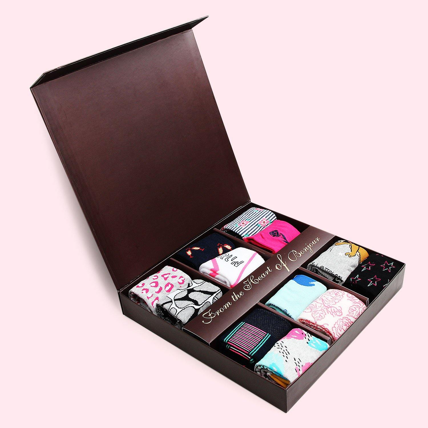 12 pair gift box for women