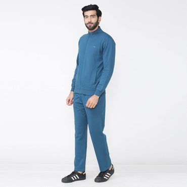Men's Winter wear Solid Track Suit - Atlantic  Deep