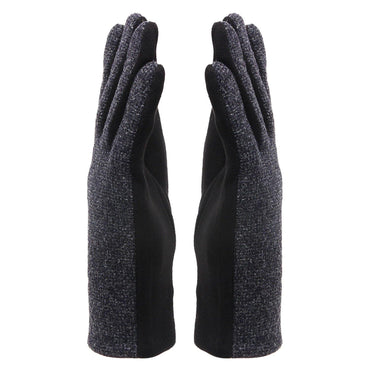 Classic Winter Gloves for Men - Black