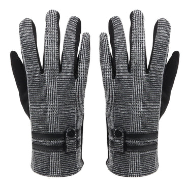 Designer Winter Gloves For Men - Dark Grey