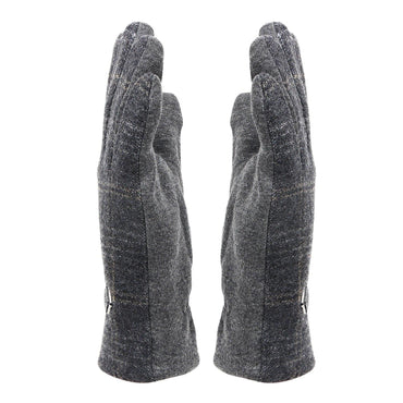 Designer Thermal Gloves For Men - Dark Grey