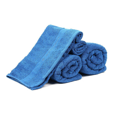 Blue Towel Set For Family-Pack Of 4