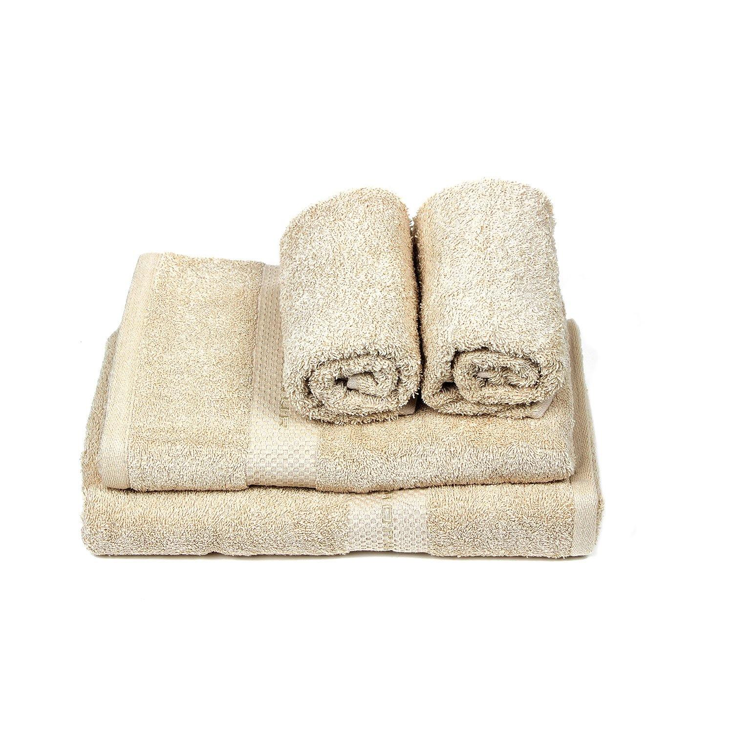 Skin Towel Set For Family-Pack Of 4