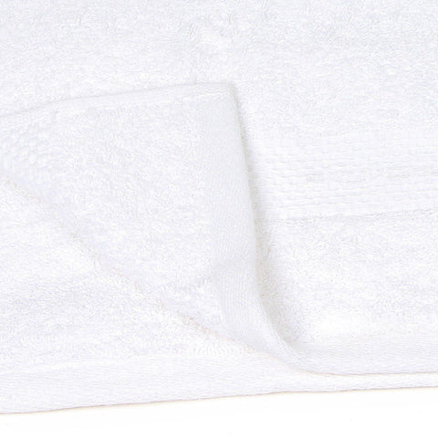 White Towel Set For Family-Pack Of 4