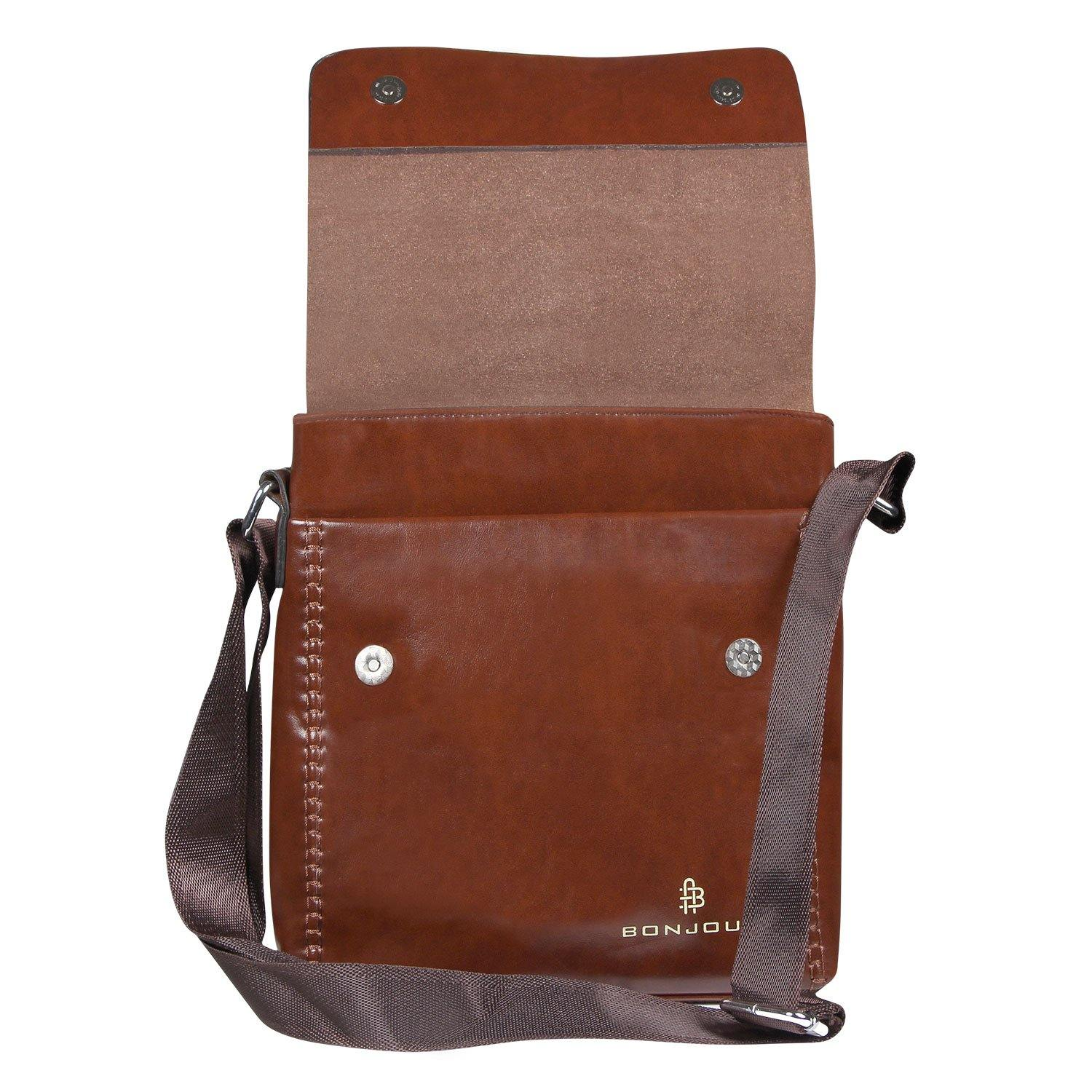 Men Stylish Brown Executive Bag