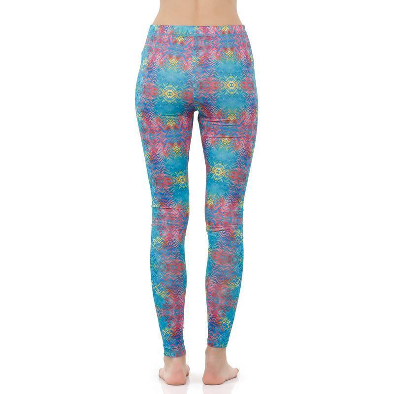 Women Printed Gym Tights - Bonjour Group