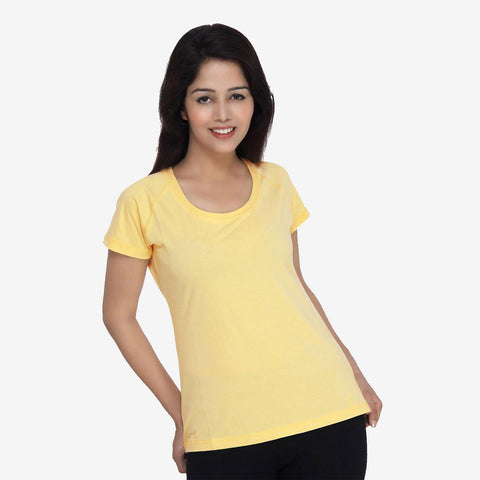 Women Half Sleeve Casual T- Shirt