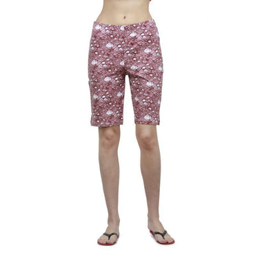 Women's Printed Knit Shorts