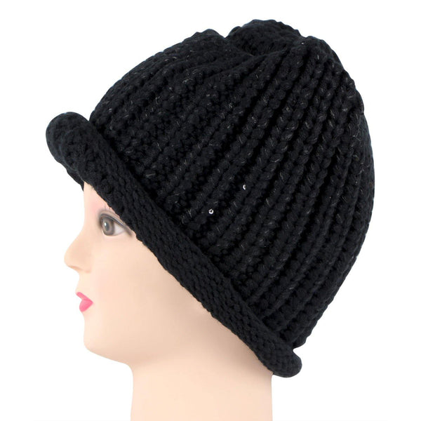 Women's  Knitted Woolen Cap