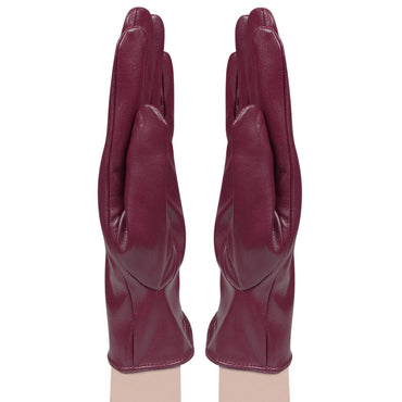 Women's designer Gloves - Red