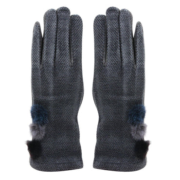 Fashionable Winter Gloves For Women - Dark Grey