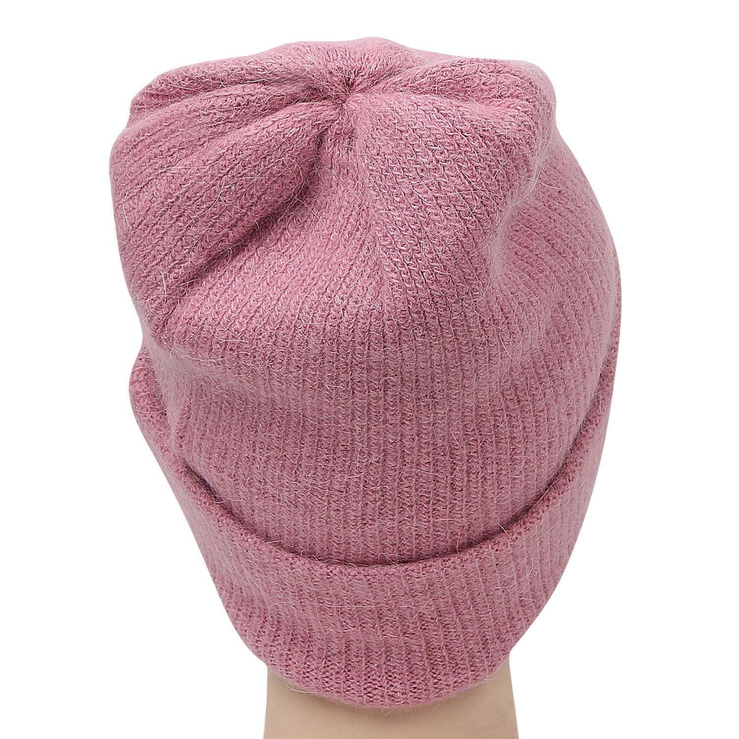 Plain Woolen Cap for Women