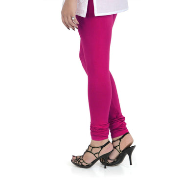 Vami Women's Cotton Stretchable Churidar Legging - Shell