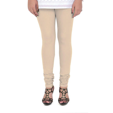 Vami Women's Cotton Stretchable Churidar Legging - Perfect Skin