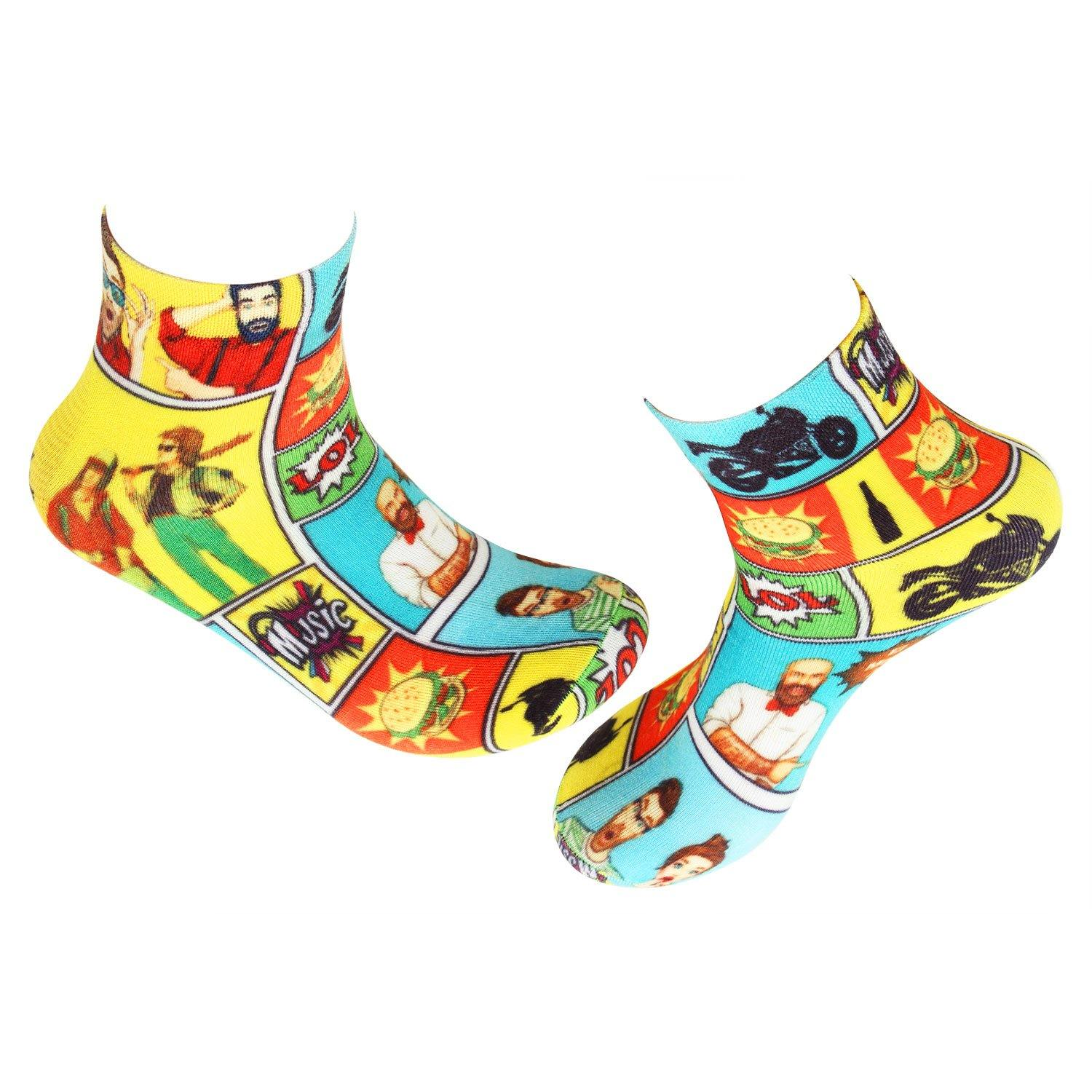 Limited Edition Fashion Socks For Men - Pack Of 2