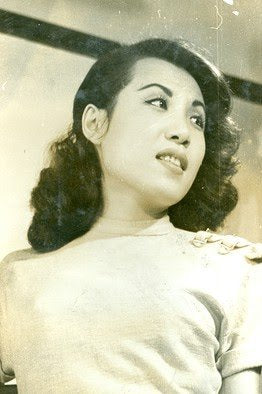 Young Nora Noh in the 1940s