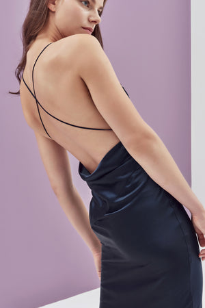 Pamela Silk Slip Dress