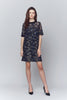 Reese Sequin Embroidered Sheath Dress