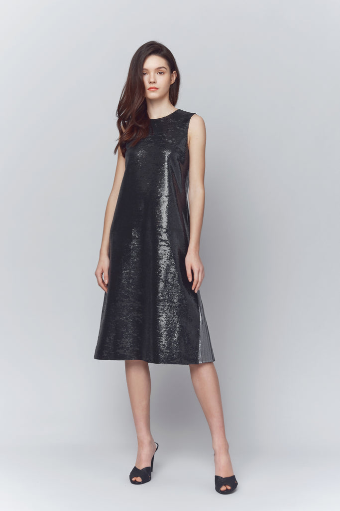 Kaye Sequined Sheath Dress