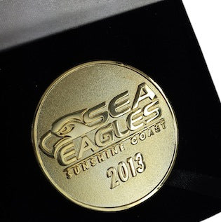 Custom Medallion - Sea Eagles