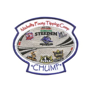 Custom Embroidered Patches - Minimums-10 | Ties'N'Cuffs