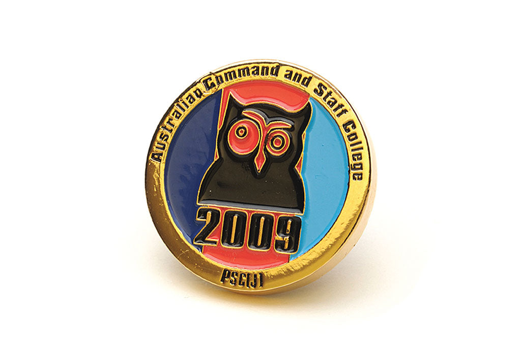 Custom Medallion - Owl