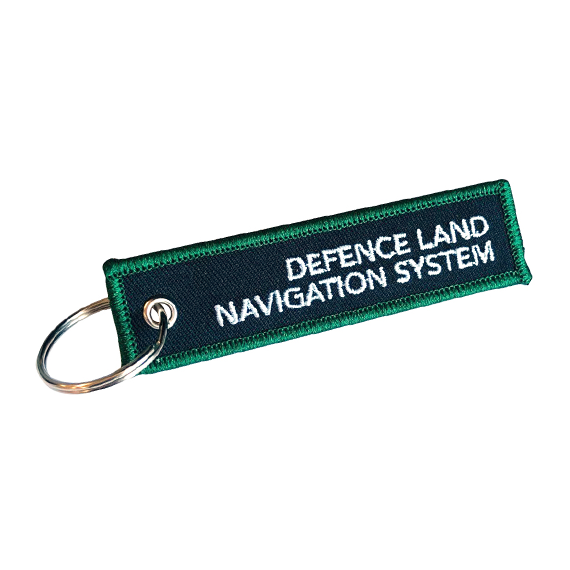 Custom Embroidered Patch Keyrings