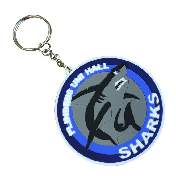 Custom Rubber & Plastic Keyrings - No Minimums | Ties'N'Cuffs