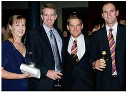 QLD Bulls Decked out in TNC Ties