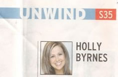 Unwind Section of the Sun Herald - May 2006