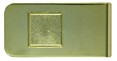 DIY Personalised Money Clip Gold