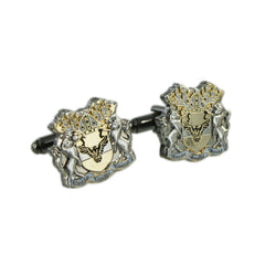 Custom Made Family Shield Cuffs - Double Plated