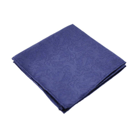 Dashing Navy Patterned Hanky