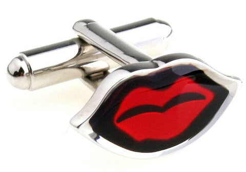 Red Lips Cufflinks