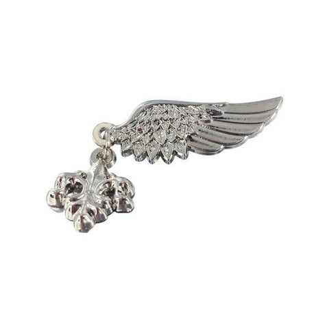 Wing and Fleur-de-lis Pin