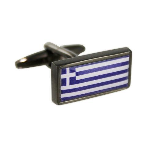 Personalised Flag Cufflinks - Left and Right